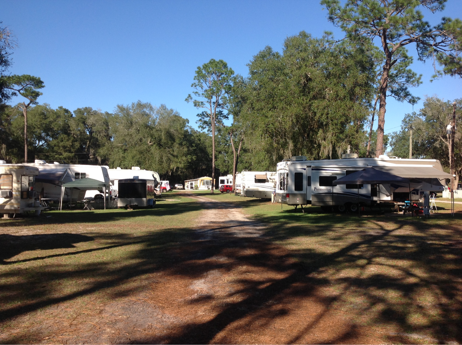 Ocala Sun RV Resort Arrowhead Campsites