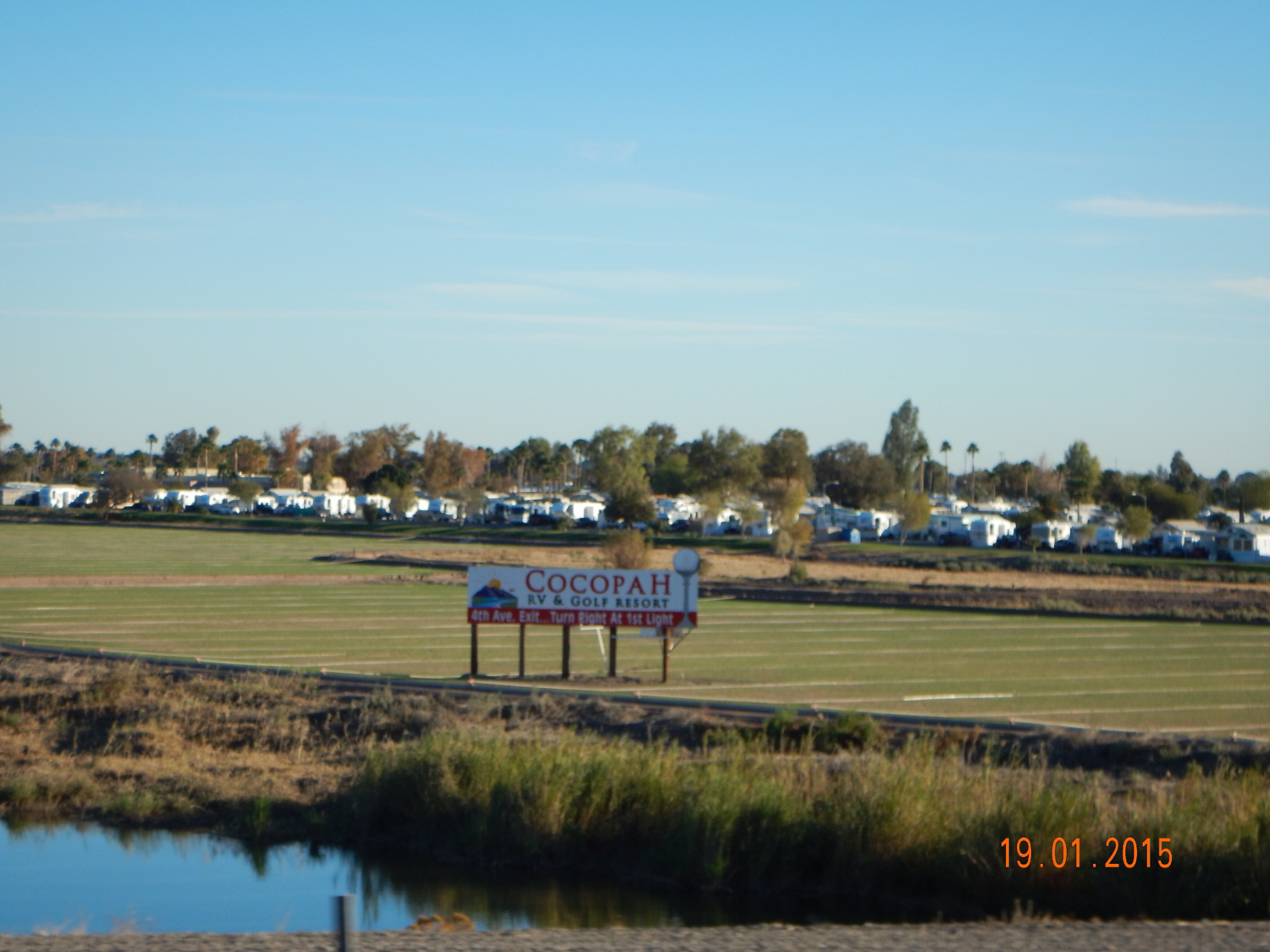 Cocopah RV Golf Resort