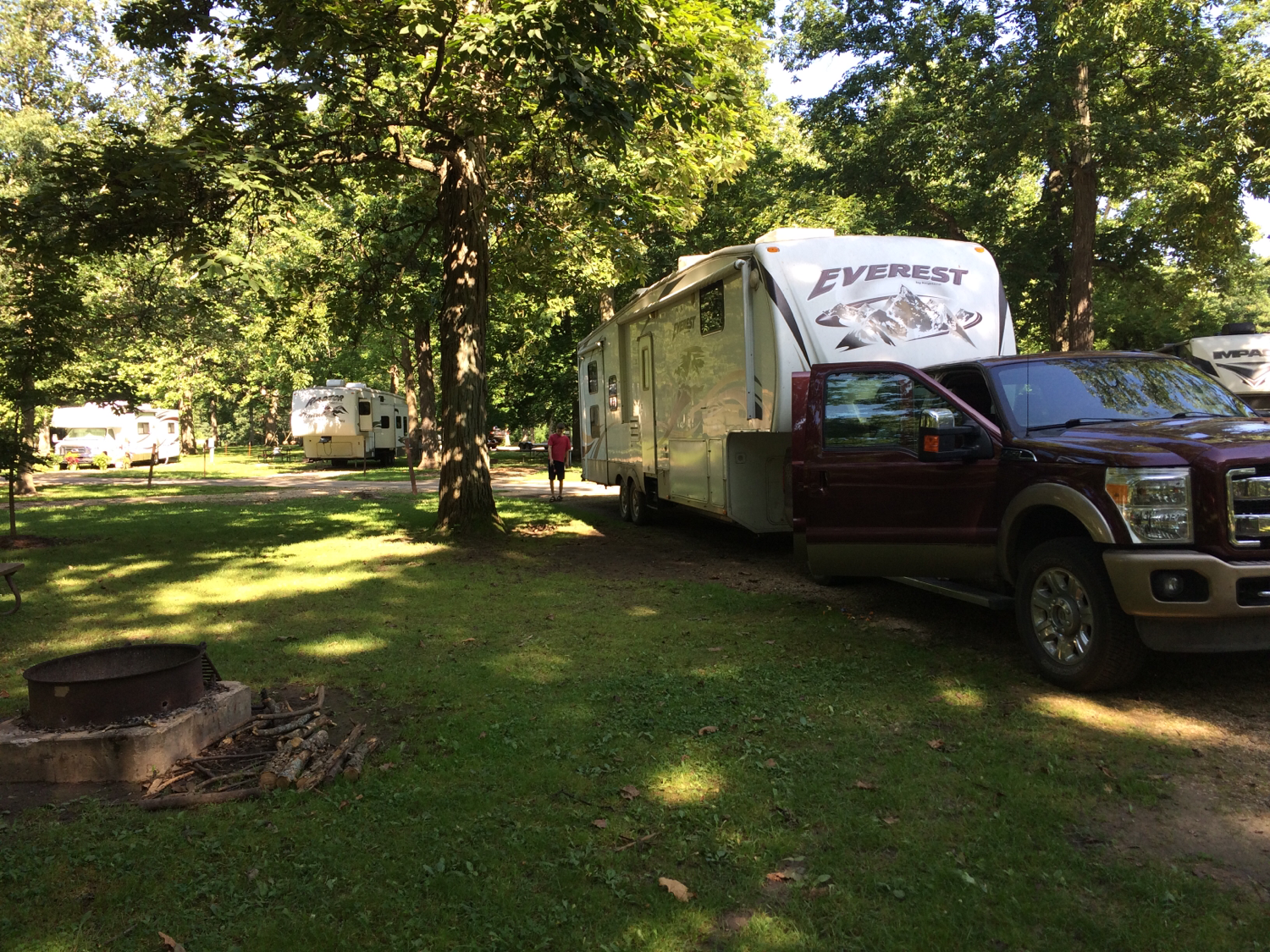 Lowden State Park Campground