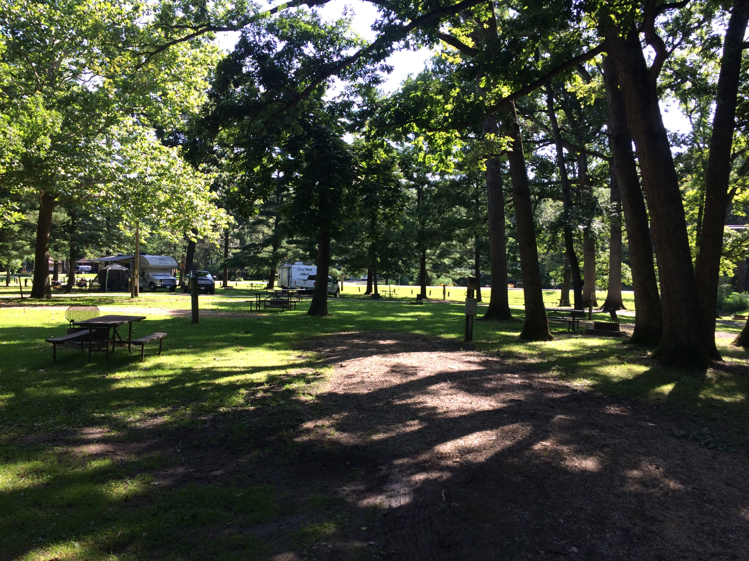 Illinois rv parks il rv parks for Camping grounds with cabins