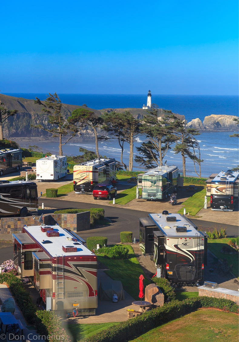 Oregon rv parks or rv parks for Pacific city oregon cabins