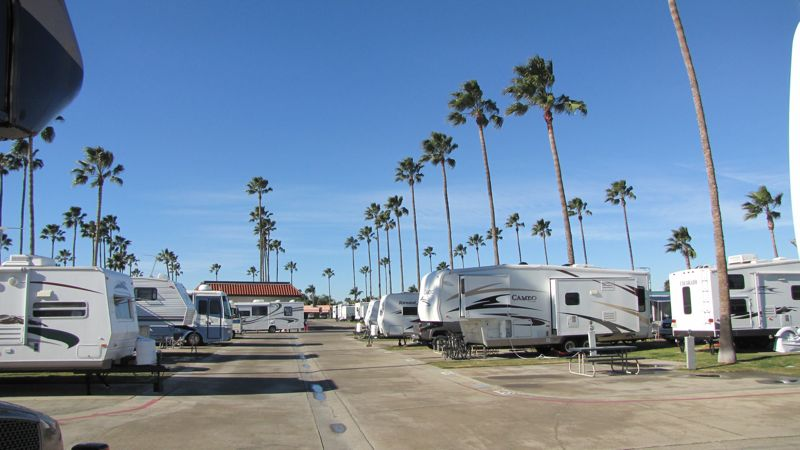 Anaheim Rv Village Closed Anaheim Ca Rvparking Com