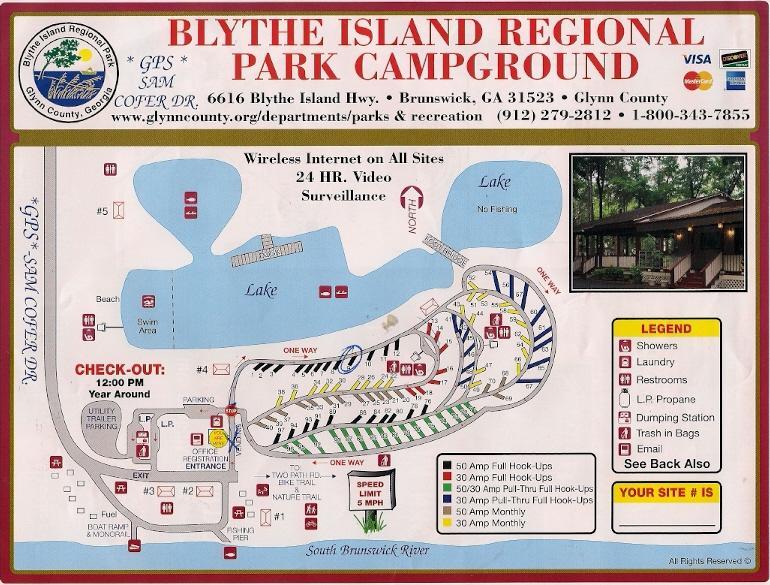 Blythe Island Regional Park Campground Brunswick Ga