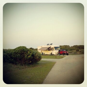 Cape Hatteras National Seashore Ocracoke Campground