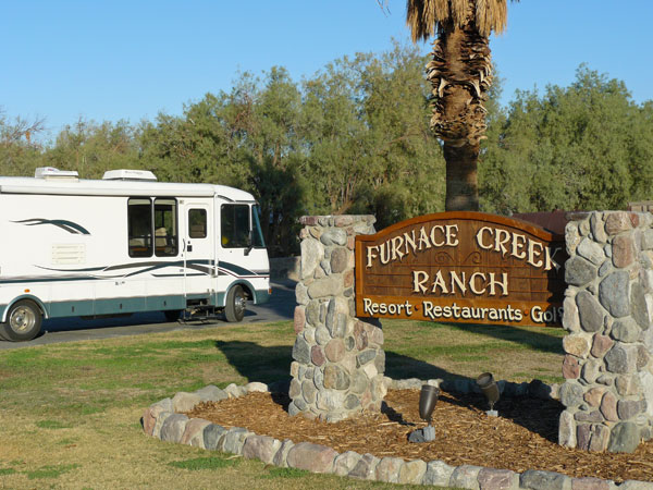 RV Fun at Death Valley and Furnace Creek Resort