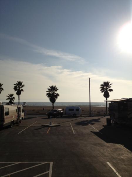 Camping At Huntington City Beach