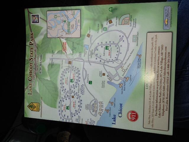 Lake Chicot State Park, Lake Village, AR | RVParking.com on
