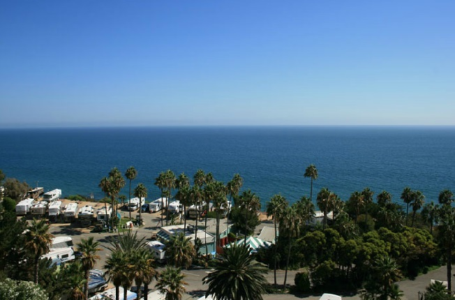 Courtesy Of Malibu Beach Rv Park Rv Parking