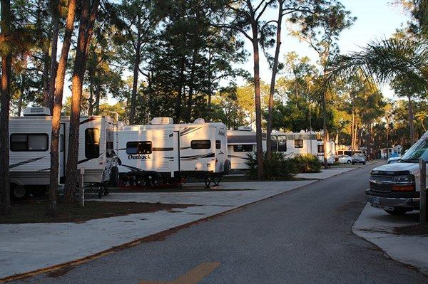 Woodsmoke Camping Resort Fort Myers Fl Rvparking Com