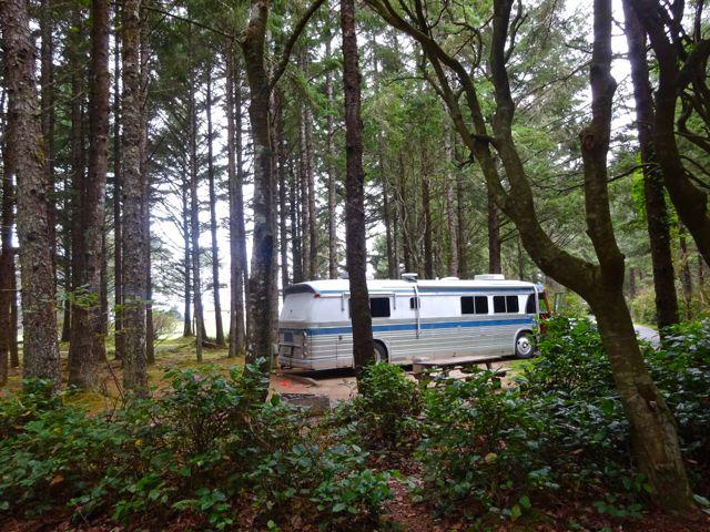 Bastendorff Beach Park Campground Coos Bay Or