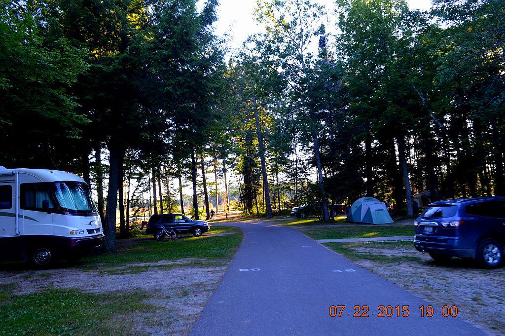Tahquamenon Falls State Park Rivermouth Campground
