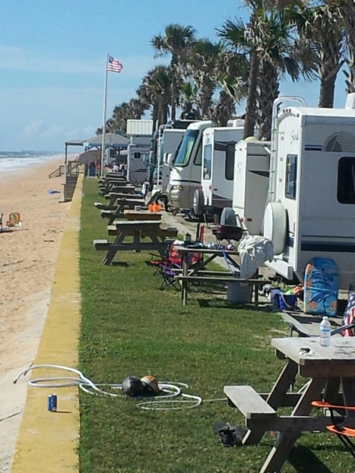Daytona Beach Rv Park On Beach