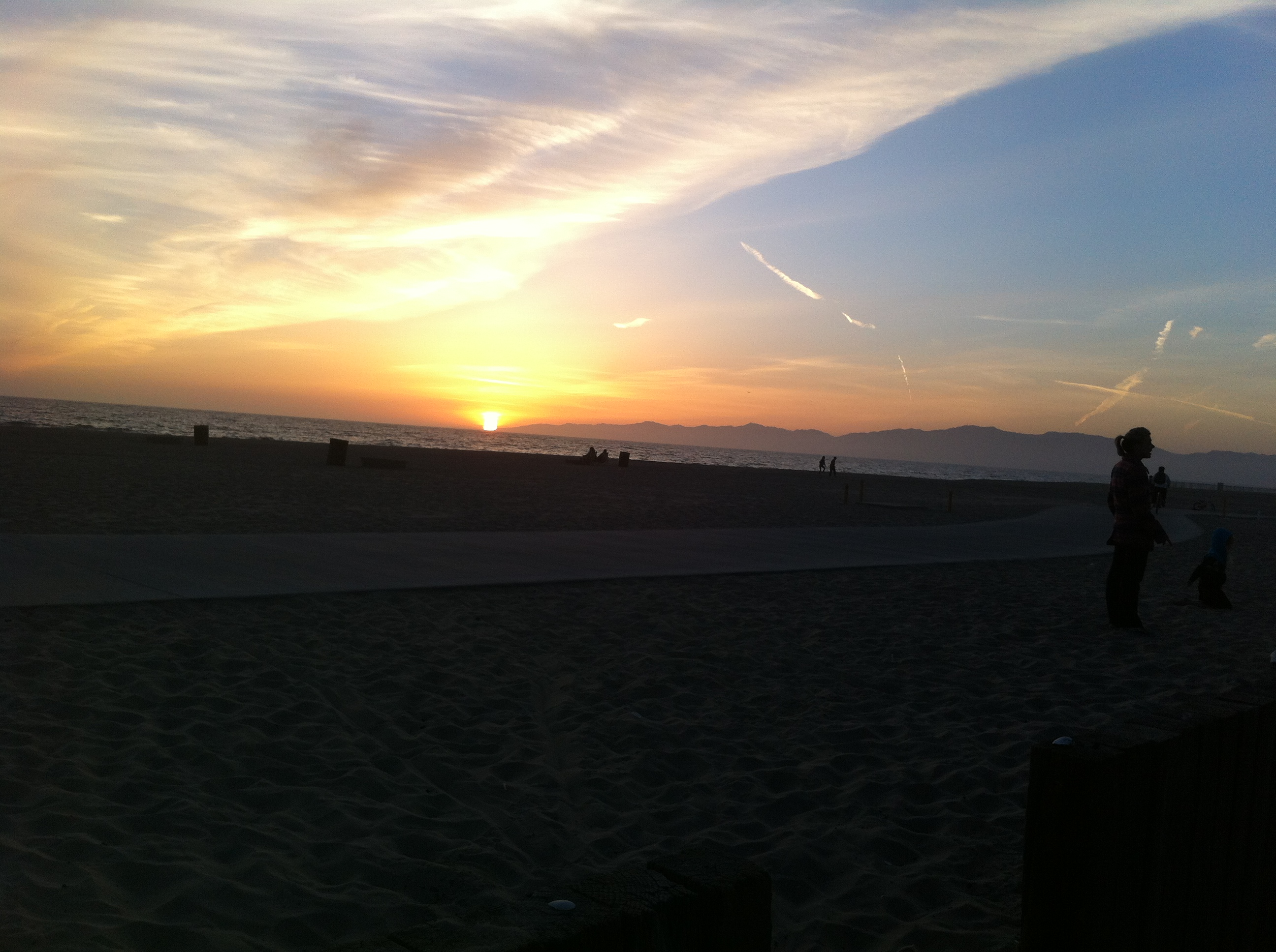 Dockweiler State Beach RV Park Playa Del Rey CA