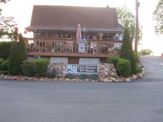 Lake Hickory Rv Resort Conover Nc Rvparking Com