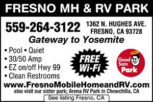 Fresno RV Parks