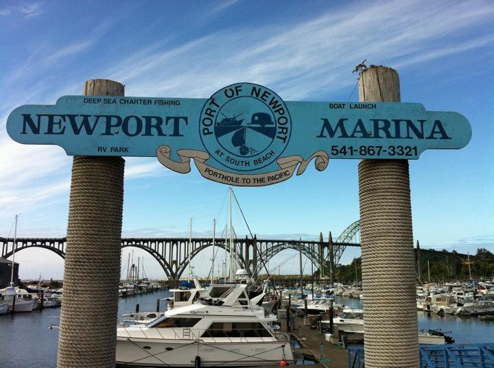 Port Of Newport Rv Park Marina South Beach