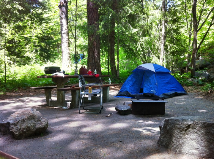Rock Island Campground Wa