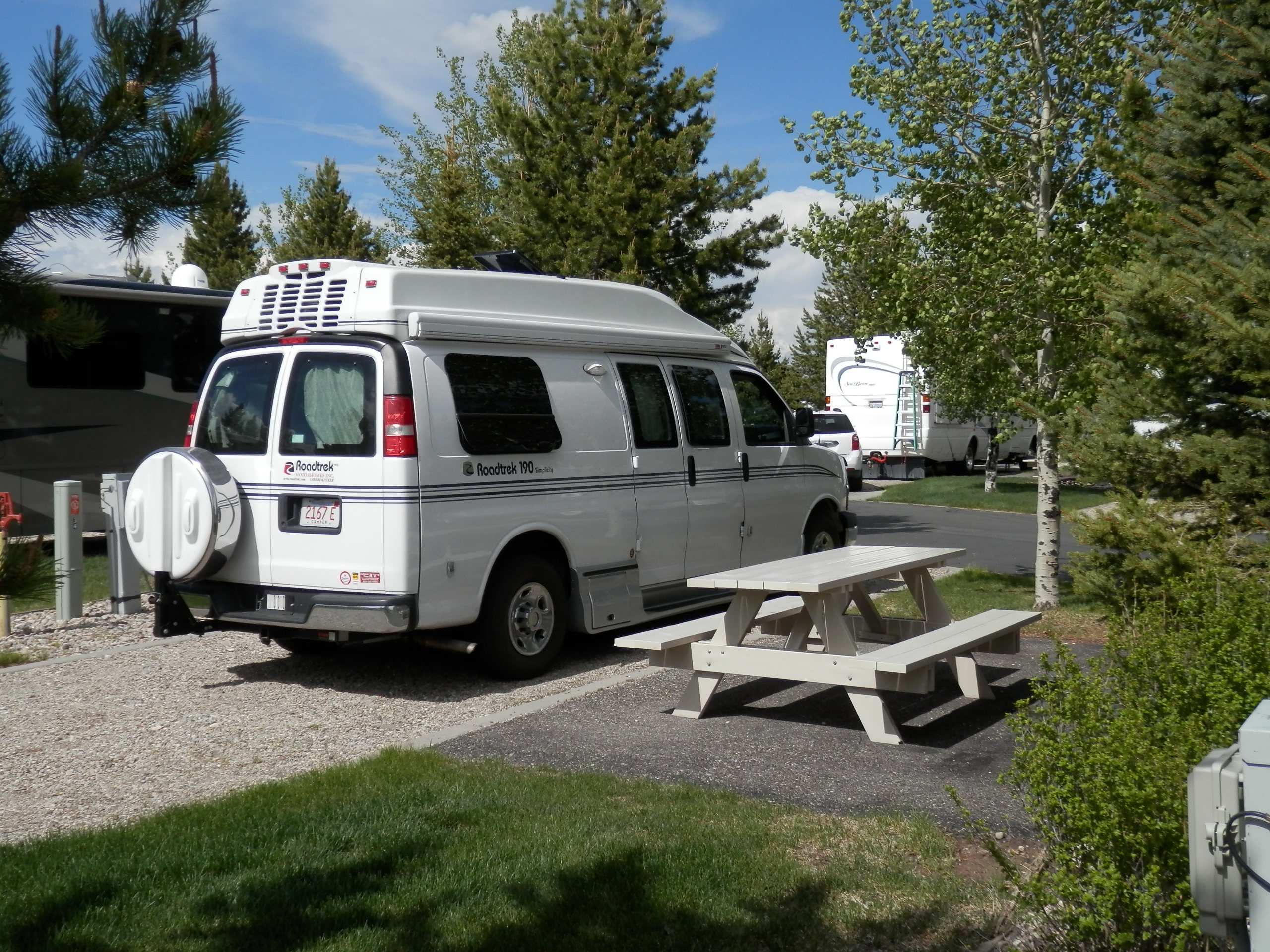 Luxury RV Rental Vehicle