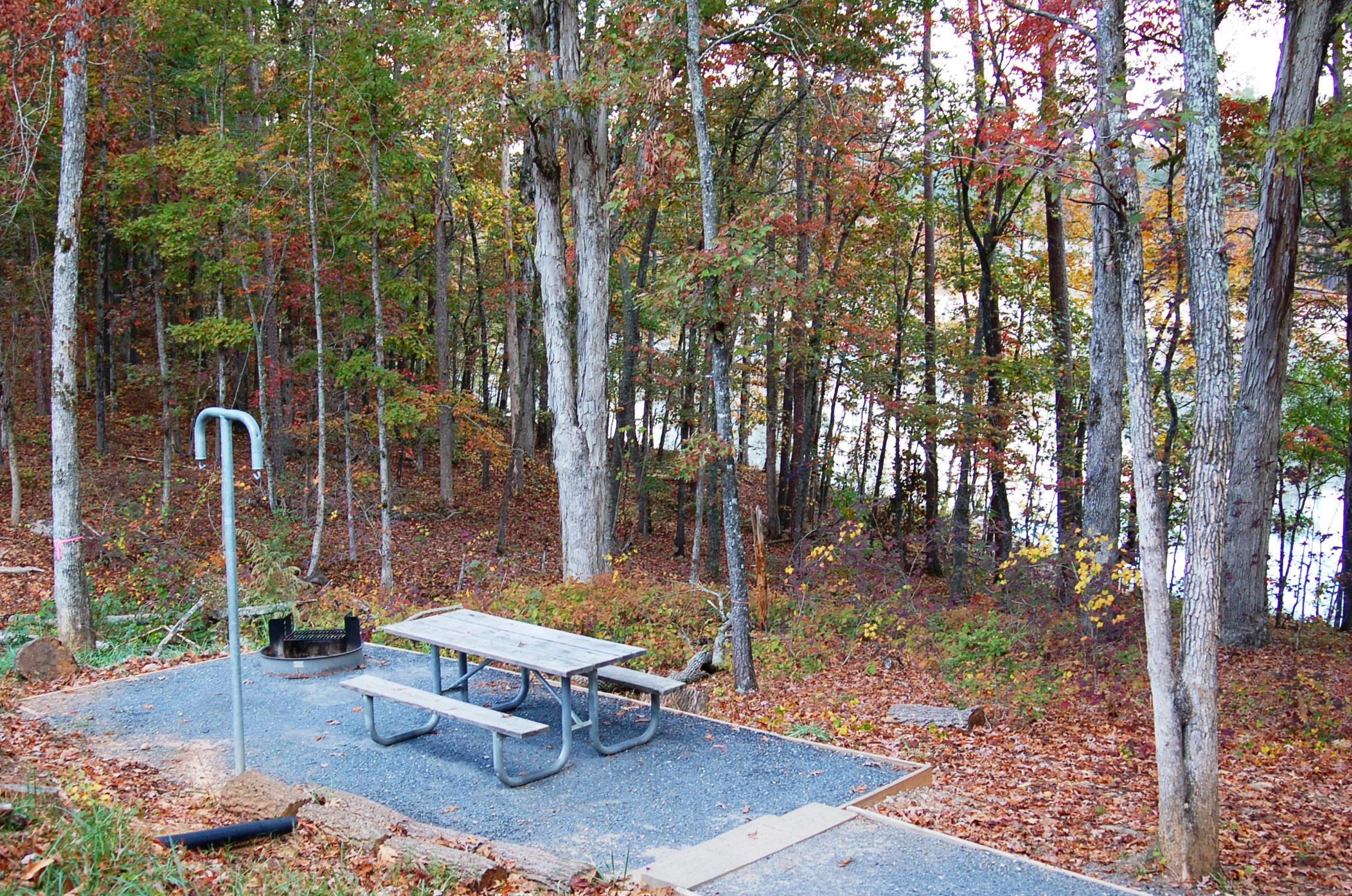 Fire Pit And Table Rv Parking