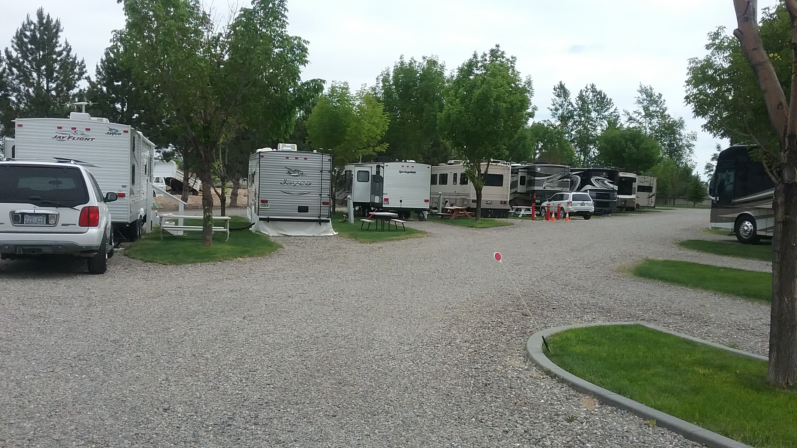Idaho rv parks id rv parks for Camping grounds with cabins