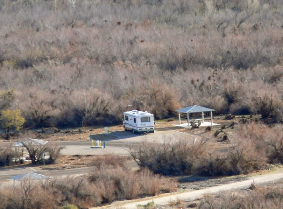 Big bend of the colorado state campground photos rv parking for Laughlin camping cabins