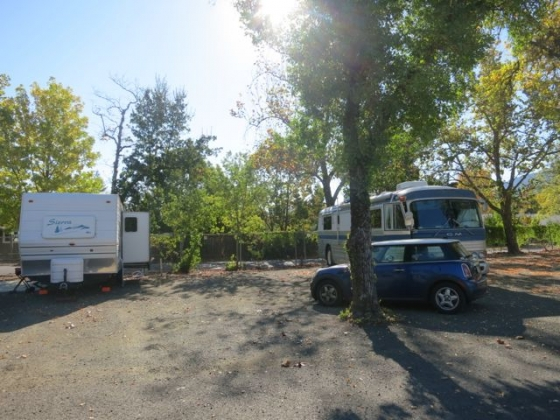 Calistoga Rv Amp Campground At Napa County Fairgrounds