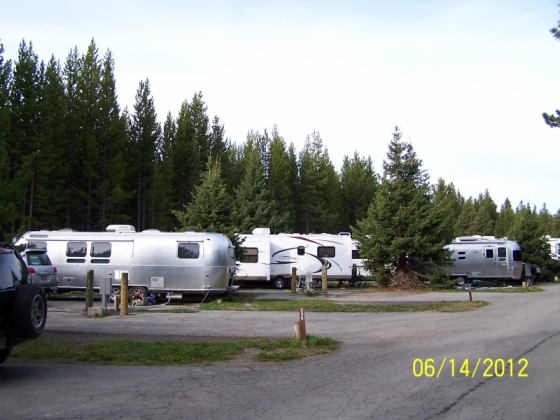Fishing bridge rv park yellowstone national park photos for Fishing bridge rv park