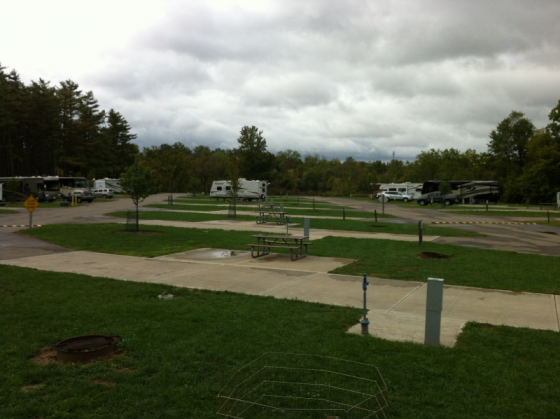 Winton woods campground photos rv parking for Winton woods cabins