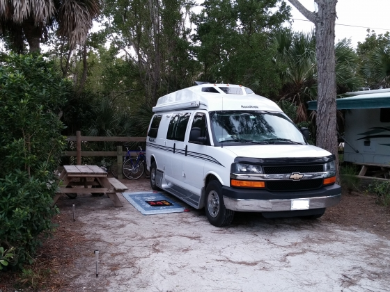 Turtle Beach Campground Reviews